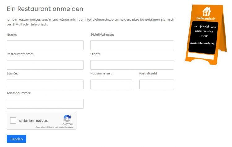 Restaurant bei Lieferando anmelden: In wenigen Schritten zum eigenen Lieferdienst
